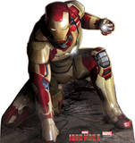 Iron Man 3 Crouching - Marvel Lifesize Standup Poster Stand Up