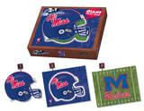 University Of Mississippi Rebels Mississippi Puzzle Puzzle
