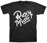 Roxy Music - Logo 02 (Slim Fit) T-Shirt