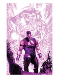 New Avengers Annual 1 Cover: Wonder Man Walking with Energy Prints by Gabriele DellOtto
