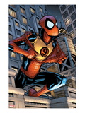 Marvel Adventures Spider-Man 9 Cover: Spider-Man Jumping Posters by Patrick Scherberger