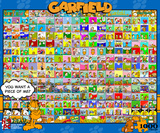 Garfield - Comic Strips 1000 piece Puzzle Jigsaw Puzzle