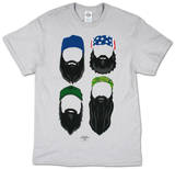 Duck Dynasty - Beards In Color T-paita