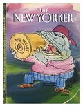 The New Yorker Cover - April 19, 1993 Regular Giclee Print by George Booth