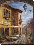 Courtyard Cafe Leinwand von Malcolm Surridge