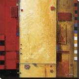 Joie de Vie Stretched Canvas Print by Don Li-Leger