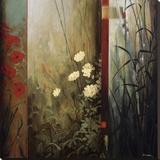 Rainforest Poppies Lærredstryk på blindramme af Don Li-Leger