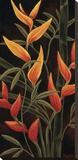 Sunburst Blossoms Stretched Canvas Print by Yvette St. Amant