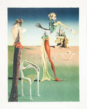 Femme a tete de roses (Woman with Head of Roses) Collectable Print by Salvador Dalí