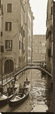 Venice Reflections Stretched Canvas Print by Jeff/Boyce Maihara/Watt