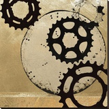 Sprockets II Stretched Canvas Print by Noah Li-Leger