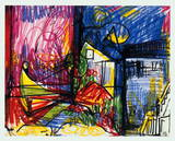 Landscape-Works on Paper Limited Edition by Hans Hofmann