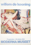 Figur i Trasklandskap Collectable Print by Willem de Kooning