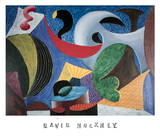 The Seventeenth V.N. Painting Limited Edition by David Hockney