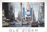 Times Square Affiches par Ole Ziger