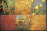 Citrus Garden Stretched Canvas Print by Don Li-Leger