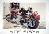 Harley Davidson Art by Ole Ziger