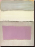 Twilight I Stretched Canvas Print by Caroline Gold