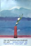 Mount Fuji with Flowers Edition limit&#233;e par David Hockney