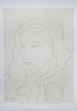 Portrait de femme en capuchon Prints by Henri Matisse