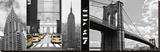A Glimpse of NY Lærredstryk på blindramme af Jeff Maihara