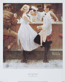After the Prom Posters by Norman Rockwell