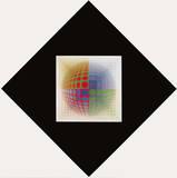 CTA-102 III Posters av Victor Vasarely
