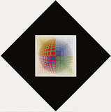CTA-102 III Prints by Victor Vasarely