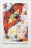 Chicago Art Fair Collectable Print by Sam Francis