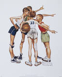 Oh Yeah! Prints by Norman Rockwell