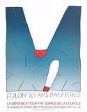 20 Ans D'Affiches Planscher av Jean Michel Folon
