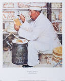 Weighty Matters Prints by Norman Rockwell
