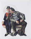 The Interloper Prints by Norman Rockwell