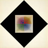 Vega-Pal Collectable Print by Victor Vasarely