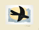 Blue and Yellow Bird Limited Edition by Georges Braque