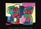Galerie 33 Collectable Print by Karel Appel