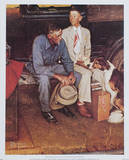 Breaking Home Ties Poster by Norman Rockwell
