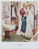 The Prom Dress Posters by Norman Rockwell