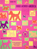 Dogs Across America Collectable Print by Peter Mayer