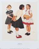 Check-Up Print by Norman Rockwell