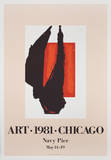 Art Chicago Plakater av Robert Motherwell