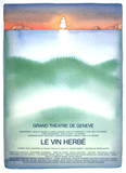 Le Vin Herbe Collectable Print by Jean-Michel Folon