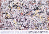 A Centennial Retrospective Poster by Jackson Pollock