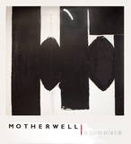 Elegy to the Spanish Republic No. LV Limited Edition by Robert Motherwell