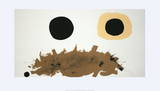 Ochre and Black Limited Edition by Adolph Gottlieb