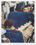 Voyeur Prints by Norman Rockwell