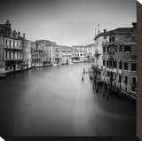 Canal Grande II Stretched Canvas Print by Nina Papiorek