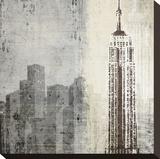 Edifice II Stretched Canvas Print by Tandi Venter