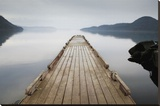 Off Orcas Island Stretched Canvas Print by Michael Cahill