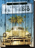 La Bodeguita Stretched Canvas Print by Bresso Sola